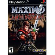 Maximo vs Army of Zin Ps2 Original Americano Completo