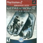 Medal of Honor European Assault Ps2 Original Americano Completo