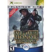 Medal Of Honor Frontline  Xbox Clássico Original Americano Completo