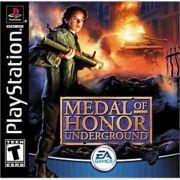 Medal of Honor Underground Ps1 Original Americano