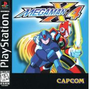 Mega Man X4 Ps1 Original Americano Completo Black Label