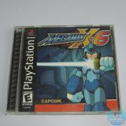 Mega Man X6 Ps1 Original Americano