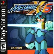 Mega Man X6 Ps1 Original Americano