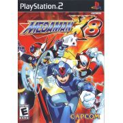 Mega Man X8 Ps2 Original Americano Completo Raridade