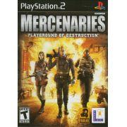 Mercenaries: Playground of Destruction Ps2 Original Americano