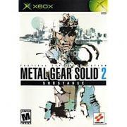 Metal Gear Solid 2  Xbox Clássico Original Americano Completo