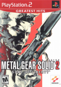 Metal Gear Solid 2 Sons of Liberty Ps2 Original Americano Completo