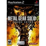Metal Gear Solid 3 Snake Eater Ps2 Original Americano