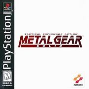 Metal Gear Solid Black Label (MGS) Ps1 Original Americano Completo