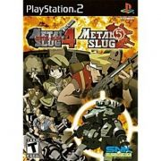 Metal Slug 4 & 5 Ps2 Original Americano Completo