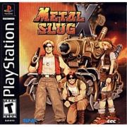 Metal Slug X Ps1 Original Americano Completo