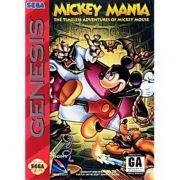 Mickey Mania Mega Drive 100% Original Americano Completo