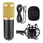 Microfone Para PC Bm800 Profissional Condensador Youtube Estúdio