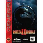 Mortal Kombat 2 Mega Drive Original Completo