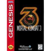 Mortal Kombat 3 Original Mega Drive Americano Completo