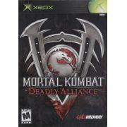 Mortal Kombat Deadly Alliance Original Xbox Clássico