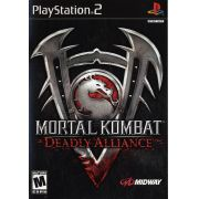 Mortal Kombat Deadly Alliance Ps2 Original Americano Completo