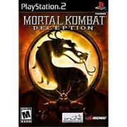 Mortal Kombat Deception Ps2 Original Americano Completo