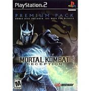 Mortal Kombat Deception Premium Pack Ps2 Original Americano Completo