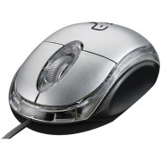Mouse Ergonômico Classic 800dpi Prata Usb PC e Notebook