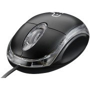 Mouse Ergonômico Classic 800dpi Preto Usb PC e Notebook
