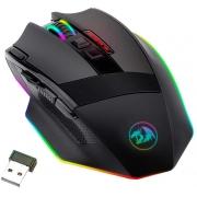Mouse Gamer Redragon Sniper Pro LED RGB 16000DPI 9 Botões Customizáveis USB Preto - M801P-RGB