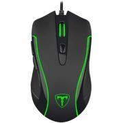 Mouse Gamer T-Dagger Private Gaming com fio / 3200DPI - Preto (T-TGM106)
