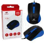 Mouse Óptico Usb Azul Original Ergonômico 1000 Dpi C3 Tech