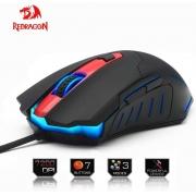 Mouse Redragon Gamer 7200dpi Led Alta Precisão Pegasus M705, 6 Botões