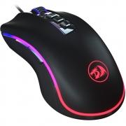Mouse Redragon King Cobra Gamer 7 botões 24000 Dpi Preto RGB M711-FPS