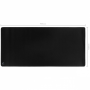 Mousepad Gamer Colors Black Extended Speed Preto - 900X420MM - PMC90X42B