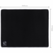 Mousepad Gamer Colors Gray Standard Speed Cinza - 360X300MM - PMC36X30GY