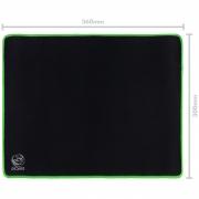 Mousepad Gamer Colors Green Standard Speed Verde - 360X300MM - PMC36X30G
