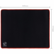 Mousepad Gamer Colors Red Standard Speed Vermelho - 360X300MM - PMC36X30R