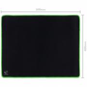 Mousepad Gamer Colors Green Médio Speed Verde - 500X400MM - PMC50X40G