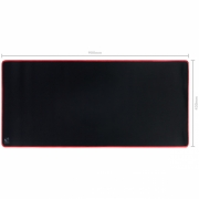 Mousepad Gamer Colors Red Extended Speed Vermelho - 900X420MM - PMC90X42R