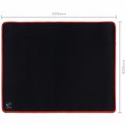 Mousepad Gamer Colors Red Médio Speed Vermelho - 500X400MM - PMC50X40R