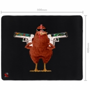 Mousepad Gamer Pad Chicken Médio Speed - 500X400MM - PMCH50X40