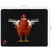 Mousepad Gamer Pad Chicken Standard Speed - 360X300MM - PMCH36X30
