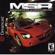MSR - Metropolis Street Racer  Dreamcast Original Americano Completo