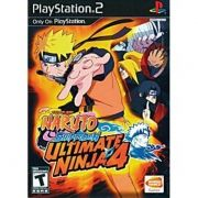 Naruto Shippuden Ultimate Ninja 4 Ps2 Original Americano
