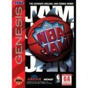 NBA Jam Mega Drive 100% Original Americano Completo