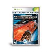 Need for Speed Underground  Xbox Clássico Original Americano Completo
