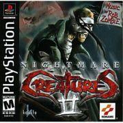 Nightmare Creatures 2 Ps1 Original Americano Completo