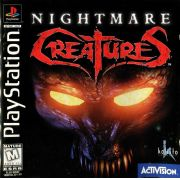 Nightmare Creatures Ps1 Original Americano Completo