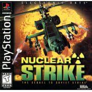 Nuclear Strike Ps1 Original Americano Completo Black Label