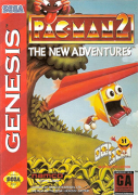 Pac-Man 2 Mega Drive 100% Original Americano Completo