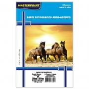 Papel Fotográfico Adesivo A4 Glossy 130g 20 Folhas Inkjet À Prova D´água