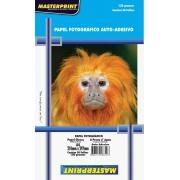 Papel Fotográfico Adesivo A4 Glossy 130g 50 Folhas Inkjet À Prova D´água