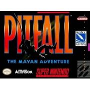 Pitfall The Mayan Adventure Super Nintendo 100% Original Americano
